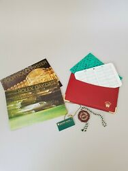 Rolex Day Date Booklet Set 1996 English