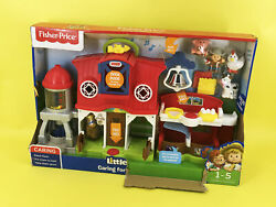 Fisher-price Little People Caring For Animals Farm Toy Set Dwc31 For Age 1-5