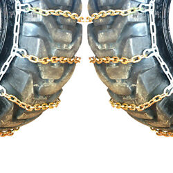 Titan Alloy Square Link Tractor Tire Chains Ice Snow Mud 11mm 420/80-46