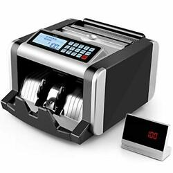 Simbr Money Counter Machine With Uv/mg/ir Counterfeit Detection Bill Counting