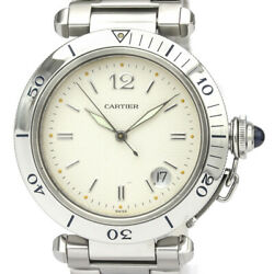 Polished Pasha 38 Diver Stainless Steel Automatic Mens Watch W3 Bf526879