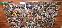 Lot Of 40 X-files Comic Books And Magazines 1990s Topps 0 -36 Incomplete Run 1