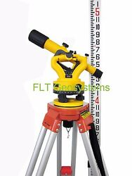 Northwest Nsl500b Builders Transit Level Package With Tripod And Level Rod