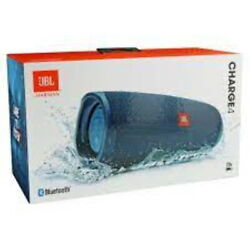 New JBL Charge 4 Portable Waterproof Wireless Bluetooth Speaker Blue Authentic