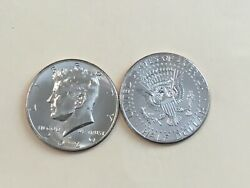 2020 Pd Kennedy Half Dollar 2 Coin Set Bu From Us Mint Rolls Or Bags