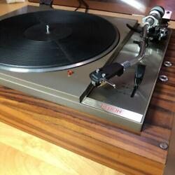 Denon Mtp-703 1970s Vintage Record Player Belt Drive Tested Good Japan