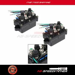 2pcs Boat Power Trim And Tilt Relay For Yamaha 2004 F30tlrc F40mshc F50tlrc