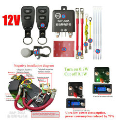Car Battery Disconnect Automatic Cut Off Isolator Master Switches Remote Control