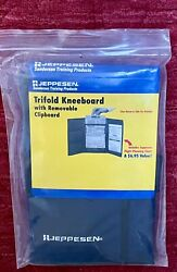 New In Bag Jeppesen Trifold Kneeboard And Removable Clipboard