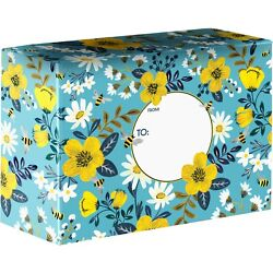Medium 12x9x6 Printed Gift Mailing Boxes 24 Pieces 7 Designs To Choose From