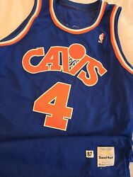 Ron Harper 1987-88 Cleveland Cavaliers Authentic Pro Cut Game Jersey  Bulls