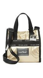 NWT Marc Jacobs The Ripstop Mini Tote Bag Gold crossbody $89.99