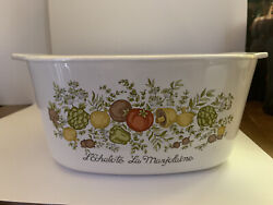 Vintage Corning Ware A-3-b Spice Of Life Collection