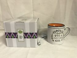 Scentsy Pumpkin Spice amp; Everything Nice Warmer New Fall