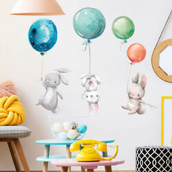 Removable Kids Cute Cartoon Wall Stickers Decals Nursery Children Decoration