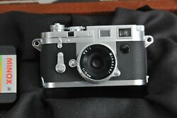 Leica Minox Classic Camera M3 60501 With Film - Boxed - New - Never Open