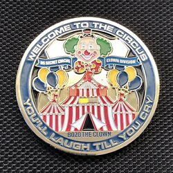 Usss Us Secret Service Circus 🤡 Serialized Challenge Coin