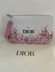 MISS DIOR PINK BAG COSMETIC MAKEUP FLORAL JUST REALEASED VALENTINE#x27;S NEW IN BOX $39.00