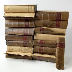 Antique Law Book Lot The American Decisions Late 1800's  11 Total Books