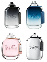 Coach Cologne Samples Coach for Men Blue Platinum 1ml to 10ml Travel Sizes $6.49