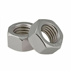 304 Stainless Steel Din934 Metric Hexagon Full Nuts M1-m36 - Fit Washers/bolts