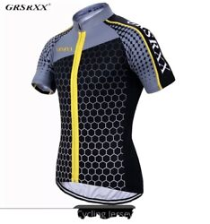 Cycling jersey: Yellow Size Large For Road Bikes Mountain Bikes Trail Bikes