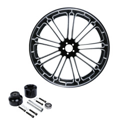 18x3.5and039and039 Front Wheel Rim Hub Single Disc Fit For Harley Touring Fltr Flht 08-21