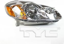 Tyc Tyc 20-6235-00-9 Compatible With Toyota Corolla Capa Certified Replacement