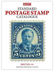 Scott Stamp Catalog 2022 Volume 1a And 1b - Countries Us Un And A-b Free Shipping