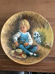 Mother Goose Nursery Rhymes By John Mcclelland Collector Plates Set Of 6