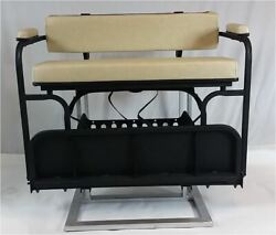 2 In 1 Combo Seat Kit In Buff For Club Car Precedent Golf Carts 2004+