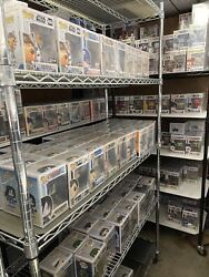 Funko 6 Pack Lot 60+ Guaranteed Value Exclusives And Cons Only