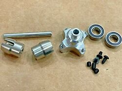 Stainless Steel Solid Axle Diff Differential Locker For Arrma 6s 1/7 Felony