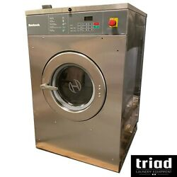 And03910 Huebsch 30lb Opl 1 Phase Commercial Washer Unimac Laundry Hotel Motel Ipso