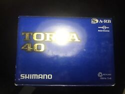 Shimano Torsa 40 New In Box. Best Conventional Reel Ever. Super Rear. Last One.