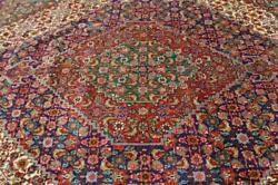 10 X 12'5 Breathtaking Semi Antique Mood Fish Design Hand Knotted Wool Area Rug