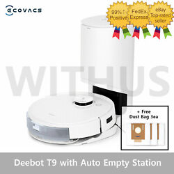 Ecovacs Deebot T9 With Auto Empty Station The Next Generation Successor Of Thet8
