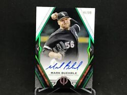 2021 Topps Tribute Green/emerald Mark Buehrle Auto Autograph /99 On Card