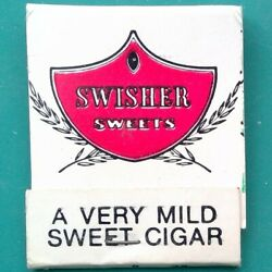 Vintage Swisher Sweets Matchbook A Very Mild Cigar From The Maker Of King Edward