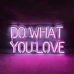 Do What You Love Led Neon Sign Art Wall Lights For Beer Bar Club Bedroom