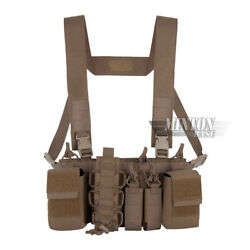 Emerson D3cr D3crh Tactical Chest Rig Vest W/223and308 Magazine Pouch Coyote Brown