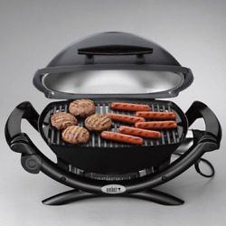 Electric Tabletop Grill Gas-like Flavr Portable Bbq Apartment Deck Condo Balcony