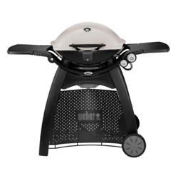 Propane Gas 2burner Grill + Cover Freestanding Cart Small Balcony Deck Patio Bbq