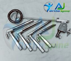 Ent Operating Laryngoscope Surgery Set With Chest Support Instruments