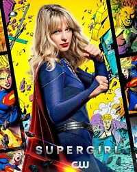 New Supergirl Tv Movie Comic Book Poster Print Canvas Dc Free Shipping