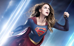 New Supergirl Tv Movie Comic Book Poster Print Canvas Free Shipping