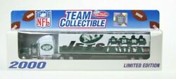 New York Jets 2000 Limited Edition Team Collectible Tractor-trailer Vintage