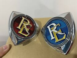Genuine New Old Stock Mazda Re Rotary Commemorative Grill Badges- Rx2 Rx3 Rx4