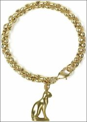 Egyptian Bastet-cat Charm Bracelet From Our Museum Store Collection