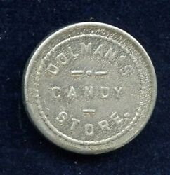 Dolmanand039s Candy Store Belleville Illinois 5andcent Trade Token St Clair County Maverick